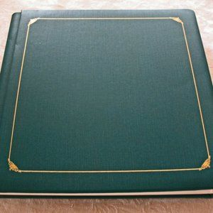 One Creative Memories Green Album 12x12 with Pages